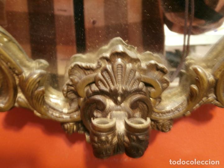 Antigüedades: Espejo de bronce - Foto 5 - 76564967