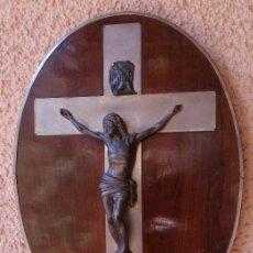 Antigüedades: REPRESENTACIÓN DE CRUCIFIXIÓN DE JESÚS. Lote 76573811