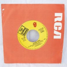 Discos de vinilo: DISCO VINILO EP - THE ROLLING STONES -IT´S ONLY ROCK N´ ROLL/THROUGH THE LONELY NIGHTS - 1974 SPAIN. Lote 76580187