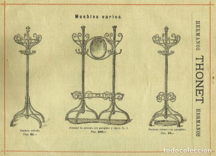 Antigüedades: IMPONENTE PERCHERO ORIGINAL DE MICHAEL THONET S.XIX COAT RACK BENTWOOD. SOMBRERERO. MARCADO EN BASE. - Foto 10 - 76627147