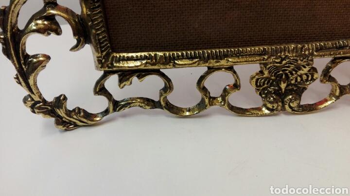 Antigüedades: Portaretratos de bronce - Foto 2 - 76627571