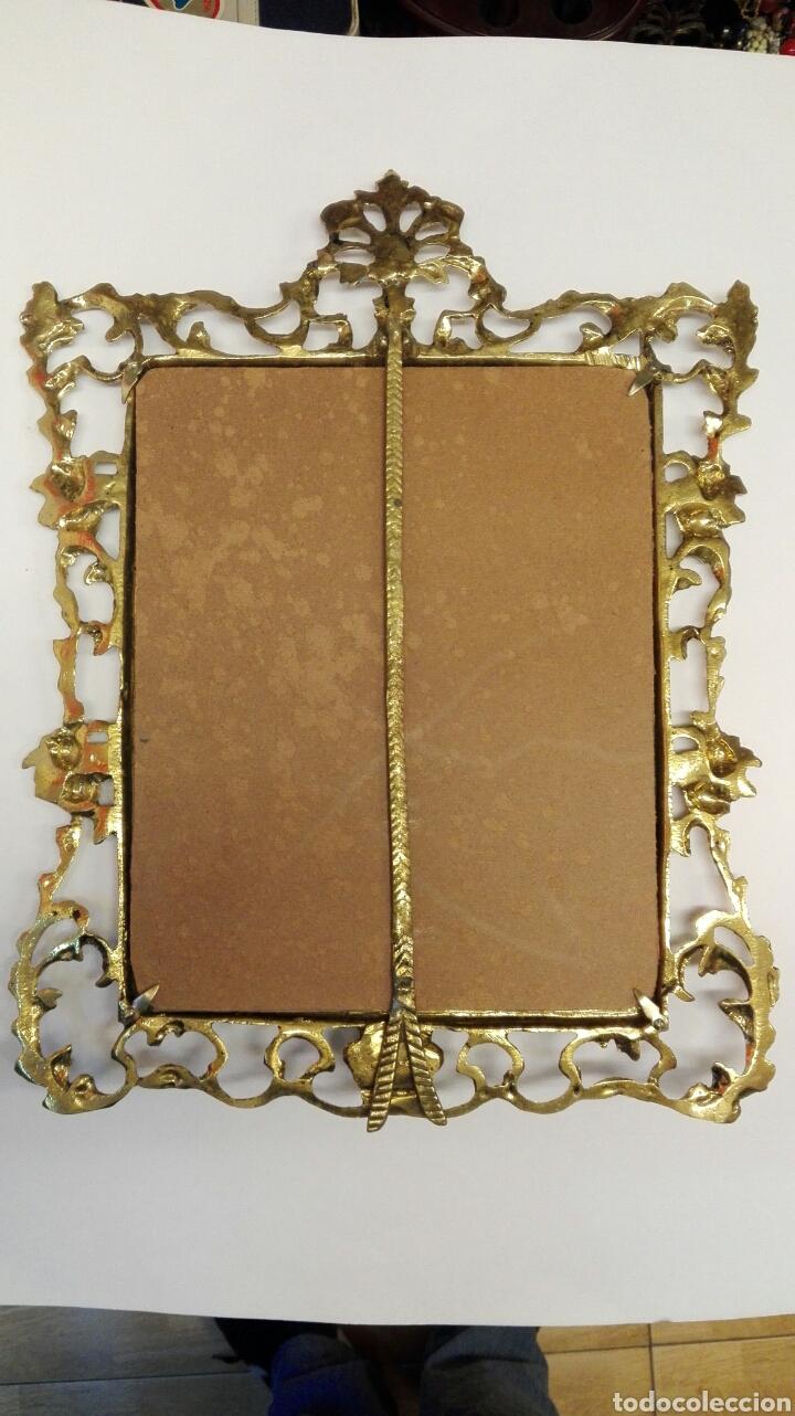 Antigüedades: Portaretratos de bronce - Foto 3 - 76627571