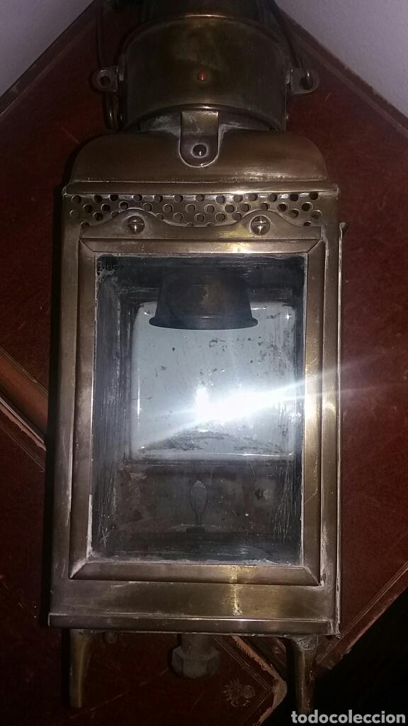 Antigüedades: Farol antiguo - Foto 6 - 76693125