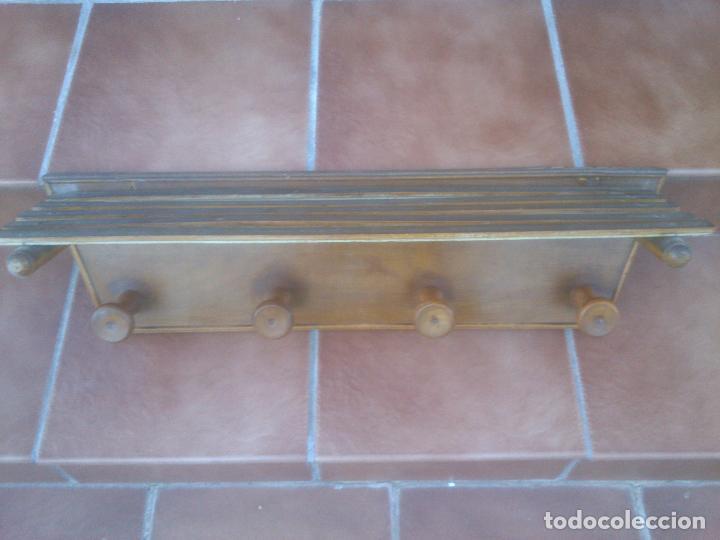PERCHERO SOMBRERERO CUATRO COLGADORES (Antigüedades - Muebles Antiguos - Auxiliares Antiguos)
