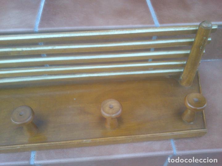 Antigüedades: Perchero sombrerero cuatro colgadores - Foto 5 - 76707575