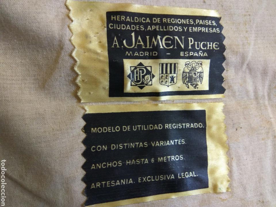 Antigüedades: REPOSTERO CON ESCUDO MALAGA - Foto 3 - 76707719