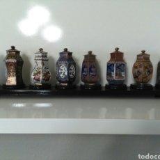 Antigüedades: TIBORES DE CLOISONNE. Lote 76727906
