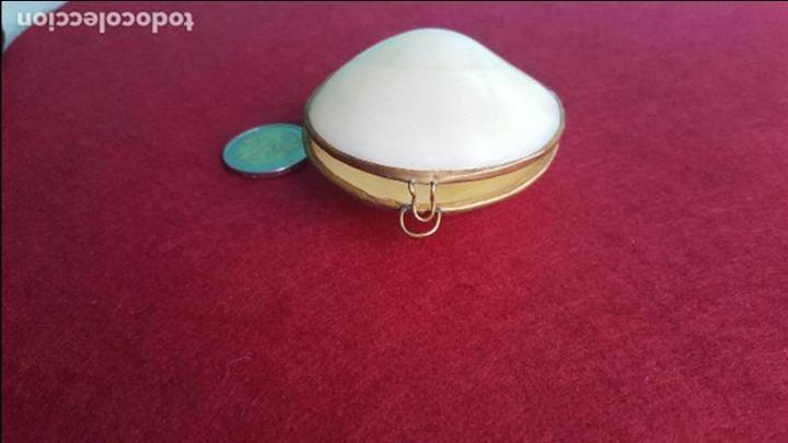 Antigüedades: Monedero en concha y metal - Foto 3 - 76755683
