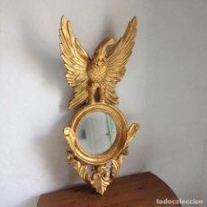 Antigüedades - CORNUSCOPIA MADERA Y PAN DE ORO - 76775951