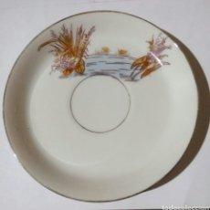 Antigüedades: PLATO CAFE REDON LIMOGES PRINCIPIOS SIGLO XX. Lote 76792859