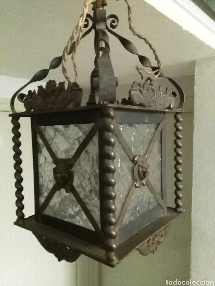 Antigüedades: Farol modernista - Foto 2 - 76812383