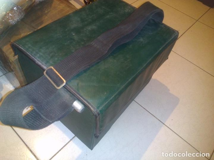 Antigüedades: Caja/Asiento de pesca con accesorios - Foto 8 - 76812459