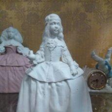 Antigüedades: MENINA EN BISCUITDE ALGORA INFANTA DOÑA MARGARITA. Lote 112960723