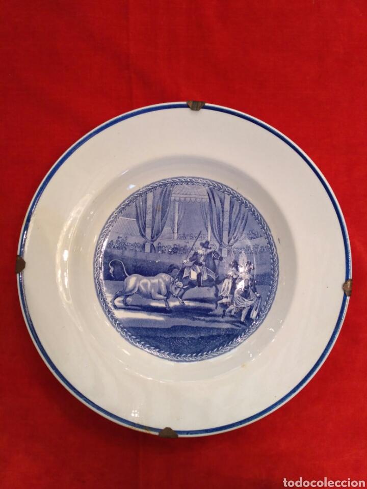 PLATOS DE LOZA VIDRIADA DE LA CARTUJA DEL SIGLO XX (Antigüedades - Porcelanas y cerámicas - La Cartuja Pickman)