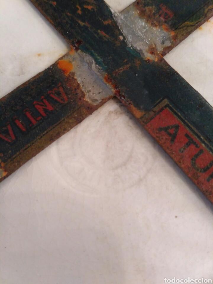 Antigüedades: Platos de loza vidriada de la Cartuja del siglo XX - Foto 5 - 76837566