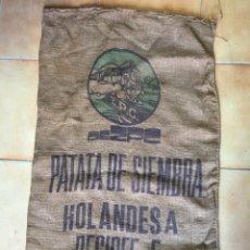 Antigüedades: ANTIGUO SACO DE PATATAS DESIREE. Lote 76848059