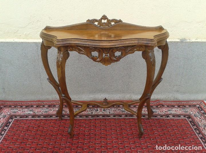 consola antigua a os 40 mueble auxiliar antigu comprar