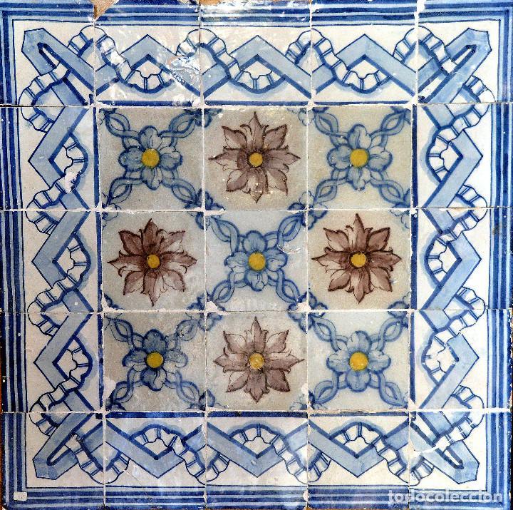 Panel de azulejos portugueses del siglo 18 comprar azulejos antiguos en todocoleccion 76887219 - Azulejos portugueses comprar ...