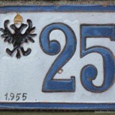 Antigüedades: AZULEJO ANTIGUO DE TOLEDO - CERAMICA CUERDA SECA :VICENTE QUISMONDO : 1955.. Lote 76889207