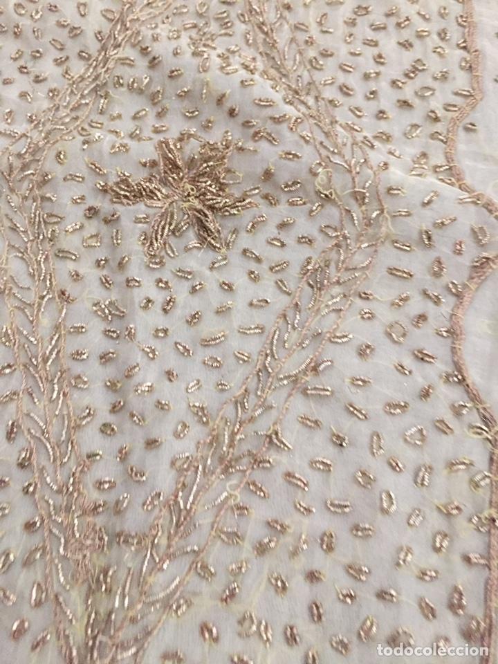Antigüedades: Paño bordado - Foto 2 - 76957738