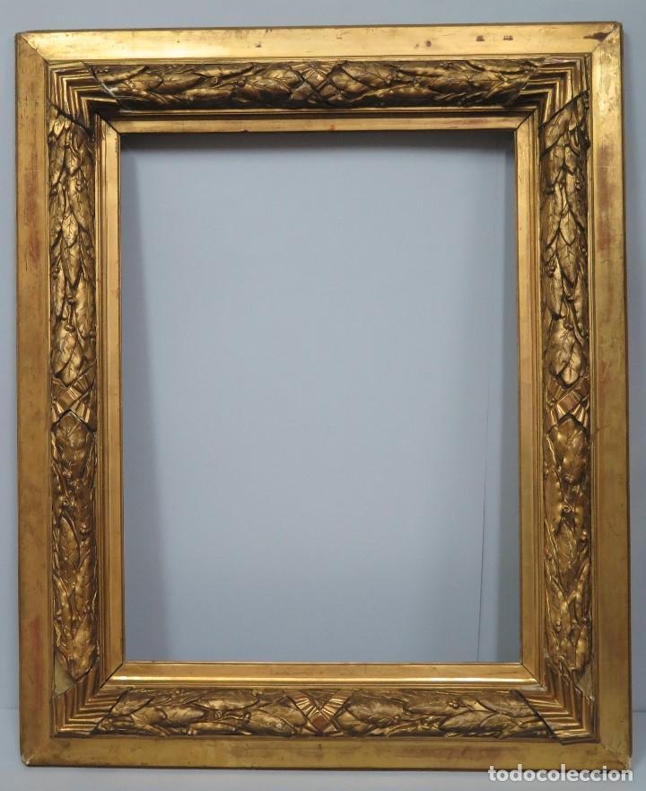 importante y precioso marco de madera dorada. s - Comprar Marcos ...