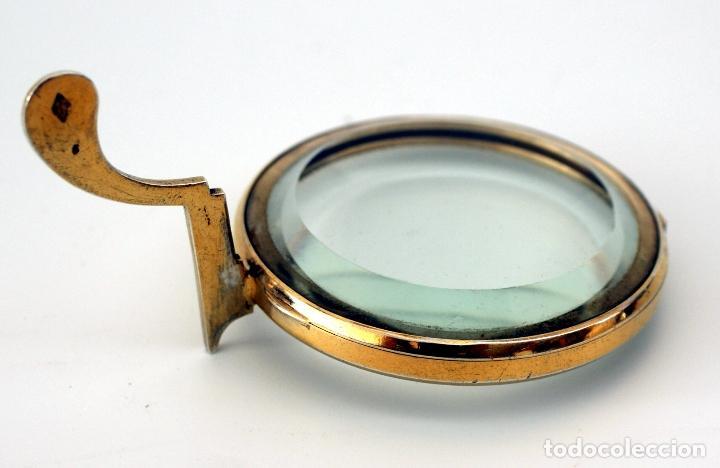 Antigüedades: VIRIL - OSTENSORIO EN CRISTAL Y PLATA SOBREDORADA - CONTRASTE DE PLATERO - S. XIX - Foto 5 - 76972301