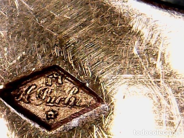Antigüedades: VIRIL - OSTENSORIO EN CRISTAL Y PLATA SOBREDORADA - CONTRASTE DE PLATERO - S. XIX - Foto 10 - 76972301
