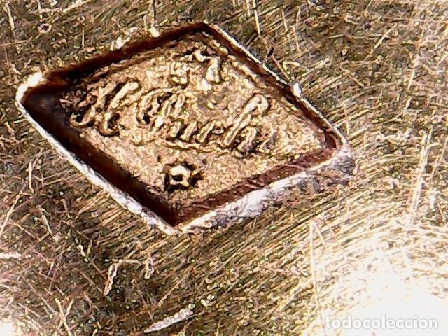 Antigüedades: VIRIL - OSTENSORIO EN CRISTAL Y PLATA SOBREDORADA - CONTRASTE DE PLATERO - S. XIX - Foto 11 - 76972301