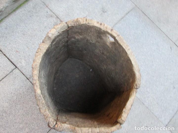 Antigüedades: APICULTURA - ANTIGUO CORTIZO COLMENA DE ABEJAS, CORTEZA DE ALCORNOQUE CORCHO SOBREIRO 49X35CM + INFO - Foto 2 - 171676338