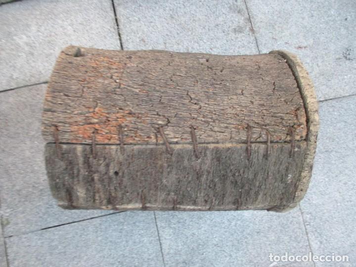 Antigüedades: APICULTURA - ANTIGUO CORTIZO COLMENA DE ABEJAS, CORTEZA DE ALCORNOQUE CORCHO SOBREIRO 49X35CM + INFO - Foto 3 - 171676338