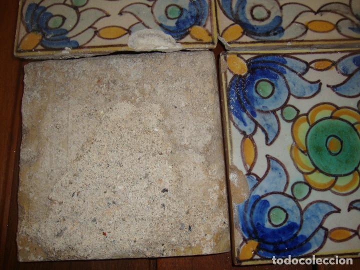 Antigüedades: Azulejos siglo XVIII pintados - Foto 3 - 77101861