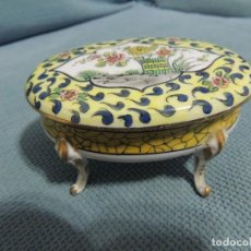 Antigüedades: CAJA JOYERO LIMOGES. Lote 77106057
