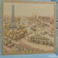 Antigüedades: TAPIZ PARIS. Lote 77109113