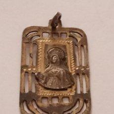 Antigüedades: MEDALLA RELIGIOSA VIRGEN DE SONSOLES RECUERDO DE AVILA. Lote 77159505