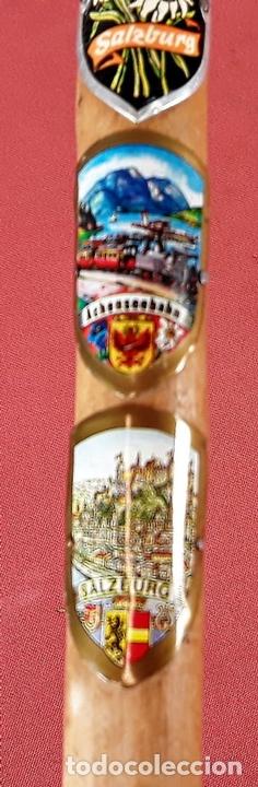Antigüedades: CONJUNTO DE 3 BASTONES. MADERA DE BOJ(?) AUSTRIA. CIRCA 1970. - Foto 20 - 77224681