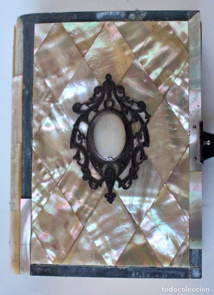 OFICIO DIVINO PARA TODOS LOS DÍAS DE FIESTA Y DE PRECEPTO, EN LATIN Y CASTELLANO, NACAR PARIS 1869. (Antigüedades - Religiosas - Artículos Religiosos para Liturgias Antiguas)