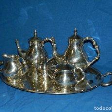 Antigüedades: (M) JUEGO DE CAFE DE PLATA 925 , PESO 1,705 GRAMOS , PUNZONES EN CADA JUEGO DE CAFE. Lote 77302205