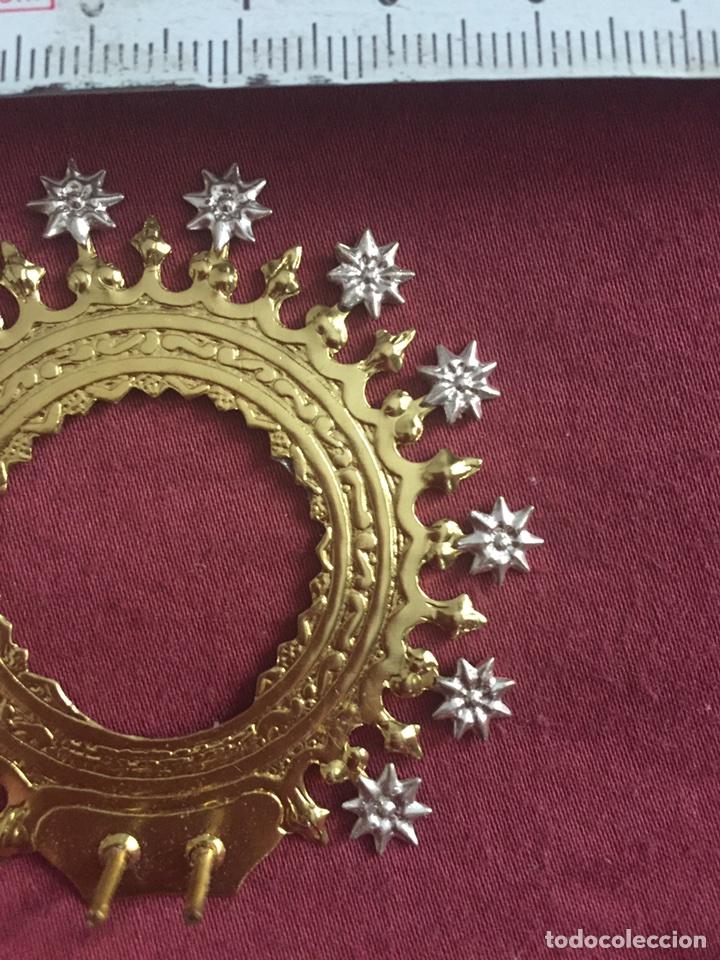 Antigüedades: Corona para virgen - Foto 2 - 175467267