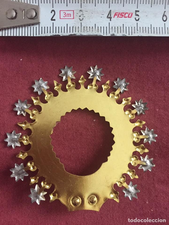 Antigüedades: Corona para virgen - Foto 3 - 175467267