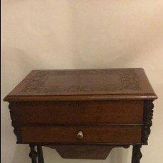 Antiguo mueble costurero comprar muebles auxiliares for Mueble costurero