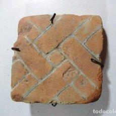 Antigüedades: ANTIGUO ADOQUIN ALICATADO EN MUY BUEN ESTADO. Lote 77345017