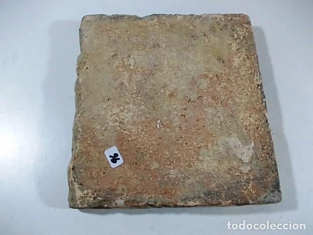 Antigüedades: ANTIGUO AZULEJO XVII-XVIII VALENCIANO DE CENEFA - Foto 4 - 77397861