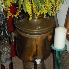 Antigüedades: MUY ANTIGUO SAMOVAR RUSO. Lote 77403113