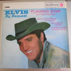 Discos de vinilo: ELVIS PRESLEY - BY REQUEST / FLAMING STAR+3 / 1962 / EX - 3-20446. Lote 77407677