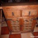 Antigüedades: ANTIGUO MUEBLE DE MADERA DE ESTILO CASTELLANO. LIQUIDACION. . Lote 77440125