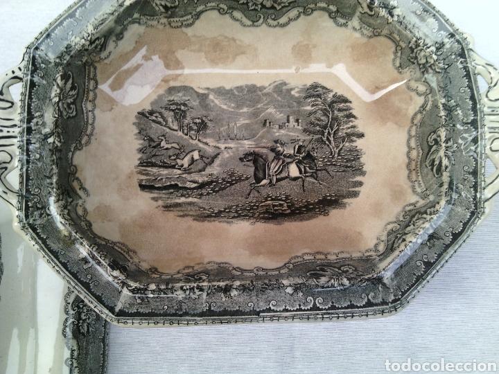 Antigüedades: LEGUMBRERA ENSALADERA CERAMICA LA AMISTAD CARTAGENA - Foto 3 - 77462795
