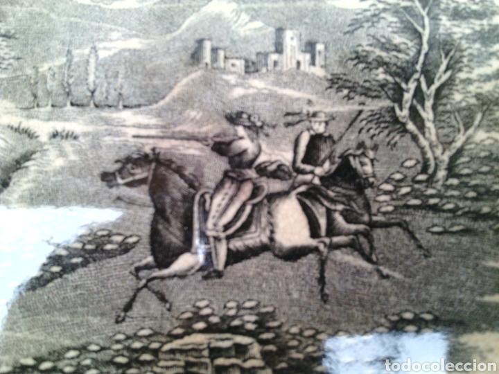 Antigüedades: LEGUMBRERA ENSALADERA CERAMICA LA AMISTAD CARTAGENA - Foto 5 - 77462795