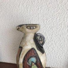 Antigüedades: INTERESANTE JARRON DE ÉPOCA CUBISTA EN CERÁMICA PINTADA.. Lote 77474585