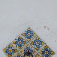 Antigüedades: ANTIGUA ARGOLLA CON AZULEJOS VOLAORET.. Lote 77496314