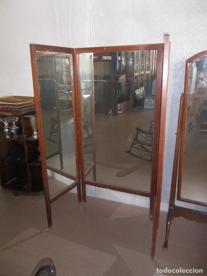 espejo de vestidor con con tres hojas plegables - Comprar Espejos ...